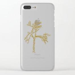 u2's Joshua Tree Tracklist Clear iPhone Case