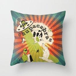 Chupacabras Throw Pillow