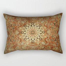 Traditional Sunshine rug Rectangular Pillow