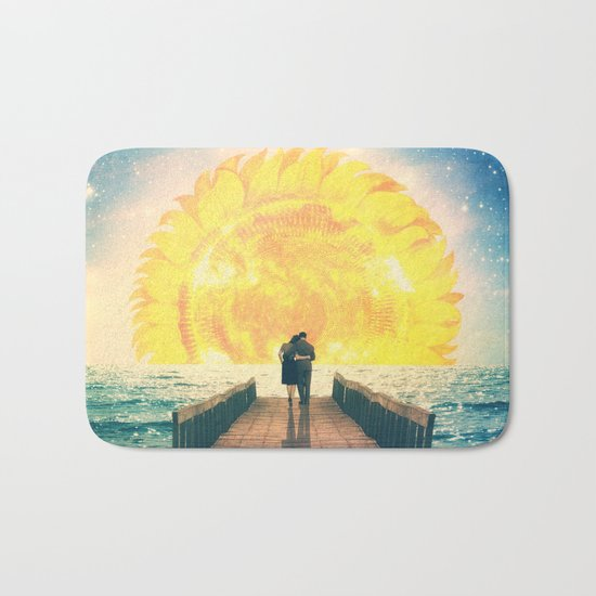 A Beautiful Sunrise Bath Mat