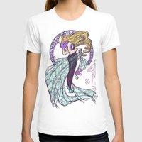 nouveau T-shirts featuring Spider Nouveau by Karen Hallion Illustrations