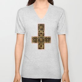 Lament Configuration Cross Unisex V-Neck