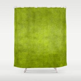 """""""Summer Fresh Green Garden Burlap Texture"""" Shower Curtain"""