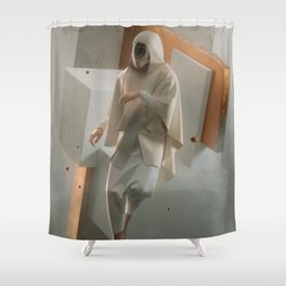 Omniscient Shower Curtain