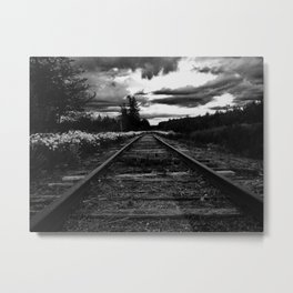 Historic Infrastructure in Disuse and Disrepair Metal Print
