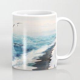 Watercolor Coast Coffee Mug