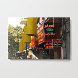 neon signs  Metal Print