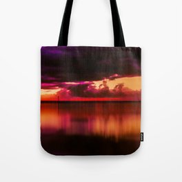 Another Place at Sunset Tote Bag