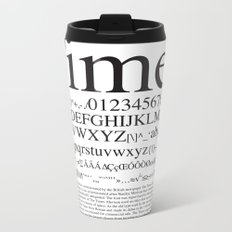 Times Metal Travel Mug