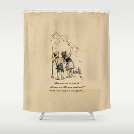 Heidi - Flowers are Made to Bloom Shower Curtain