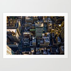 Top of the Empire #1 Art Print