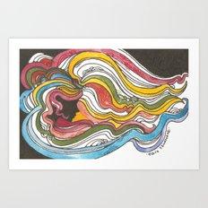 Glaser Breeze Art Print