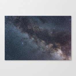 Detailed view of the Milky Way Canvas Print