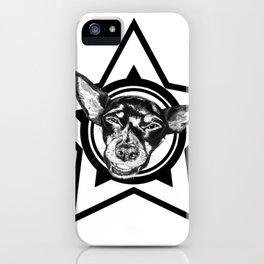 Tyson (black & white) iPhone Case