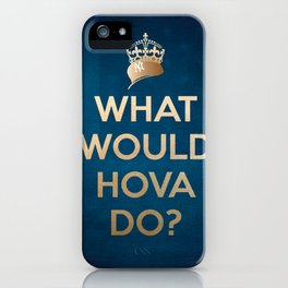 What Would Hova Do? - Jay-Z iPhone Case