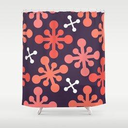 Flower Jacks Shower Curtain