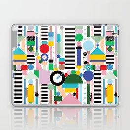 Memphis Milano Postmodern City Towers Laptop & iPad Skin