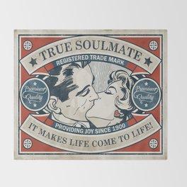 True Soulmate Throw Blanket