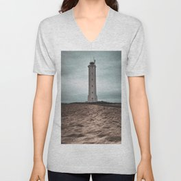 The Malariff Lighthouse Unisex V-Neck