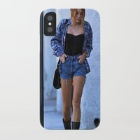 miley cyrus iPhone & iPod Cases featuring Miley Cyrus by radaaban