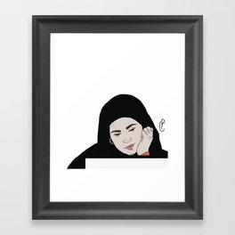 Sana in love Framed Art Print