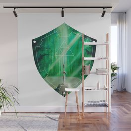 Hylian Shield (Master Sword in the Lost Woods) Wall Mural