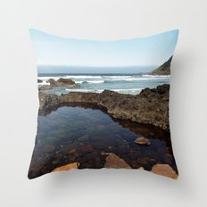 Cape Perpetua Tide Pool Throw Pillow