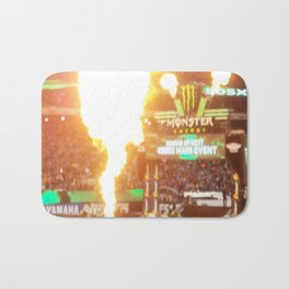 MX Supercross Explosive Fire Bath Mat