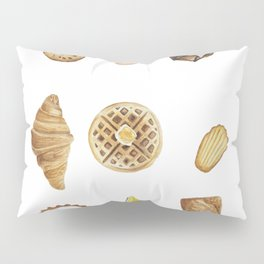 Pastries Collection. Bakery goods Pillow Sham