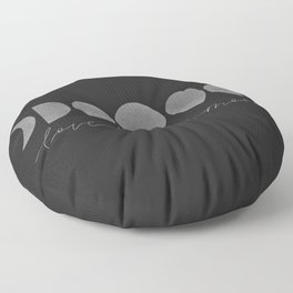 Love By the Moon Floor Pillow
