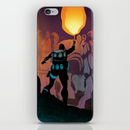 HARKER'S CRYPT iPhone Skin
