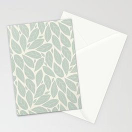 Autumn pastel foliage Stationery Cards