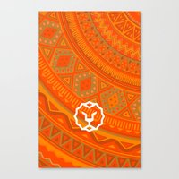 vodka Canvas Prints featuring Vodka Skin by kacksclothier