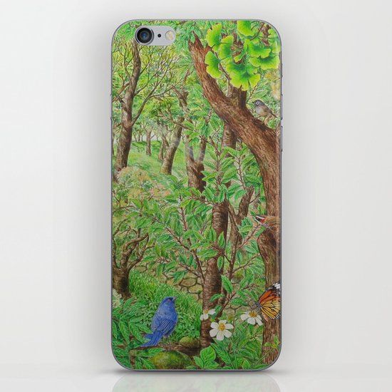 A Day of Forest (2). (sunshine forest) iPhone & iPod Skin