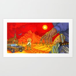 Western Sin / Our Mother the Mountain Art Print