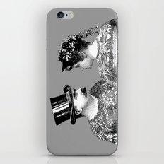 Tattooed Victorian Lovers iPhone & iPod Skin