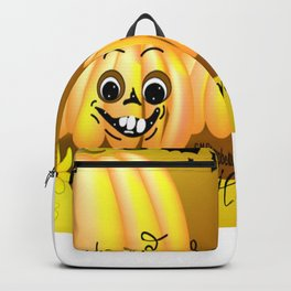 """Happy Harvest Pumpkins"" Backpack"