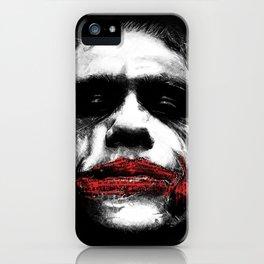The Joker - Movie Inspired Art iPhone Case