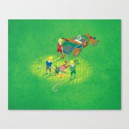 We Reprezent Canvas Print