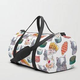 cat sushi gang Duffle Bag