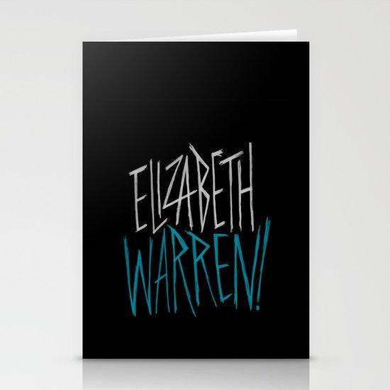 Elizabeth Warren! Stationery Cards