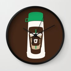 The Coffee Stacker Wall Clock