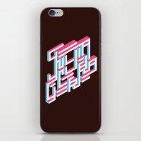 gentleman iPhone & iPod Skins featuring Gentleman by Jacque Prior