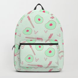 Asparagus and Eggs Backpack