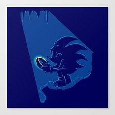 The Hedgehog of the ring Canvas Print