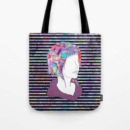 Extroversion Dye Tote Bag