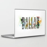 dallas Laptop & iPad Skins featuring Dallas by Tonya Doughty