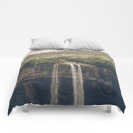 Waterfall 03 Comforters