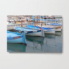 Azure Tides Metal Print