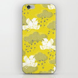 Rain Birds - Sulpher iPhone Skin